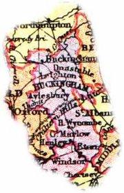 1904 Buckinghamshire Map