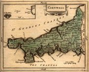 1783 Map of Cornwall