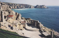 Minack Theatre, carved from the cliffs