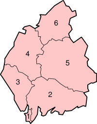 Cumbria's Districts
