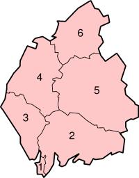 Cumbria's Districts