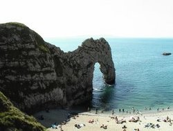 Durdle Door natural arch
