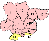 Essex's Districts