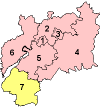 Gloucestershire's Districts