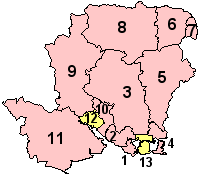 Hampshire's Districts