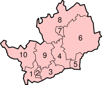 Hertfordshire's Districts
